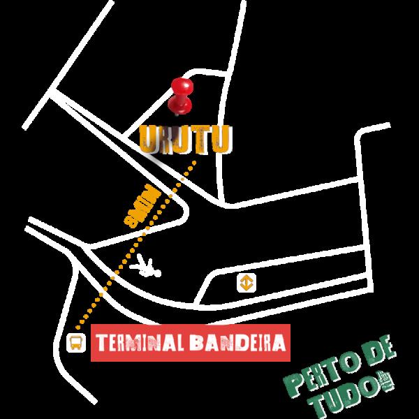 O Estúdio Urutu fica no centro de São Paulo (SP), há 8 minutos do Terminal Bandeira
