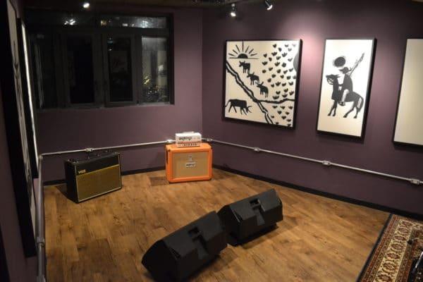 Sala para ensaios e gravação no Urutu - Estúdio de música para ensaios e gravações na República, centro de São Paulo (SP)